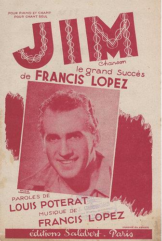 Francis Lopez | Jim | Chanson