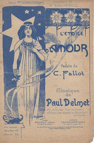 Paul Delmet | L'etoile d'Amour | Chanson