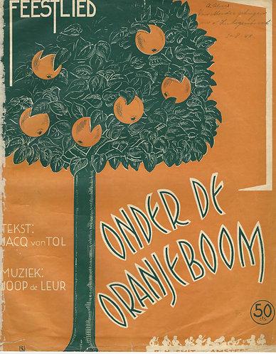 Joop de Leur | Onder de Oranjeboom | Piano | Vocals