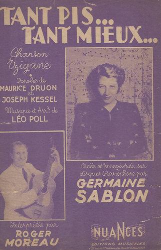 Germaine Sablon   Leo Poll   Tant Pis Tant Mieux   Chanson
