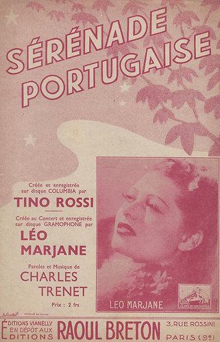Leo Marjane | Tino Rossi | Charles Trenet | Serenade Portugaise | Chanson