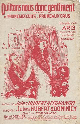 Aris | L. Pierrot | C'est la chanson des cocus | Chanson