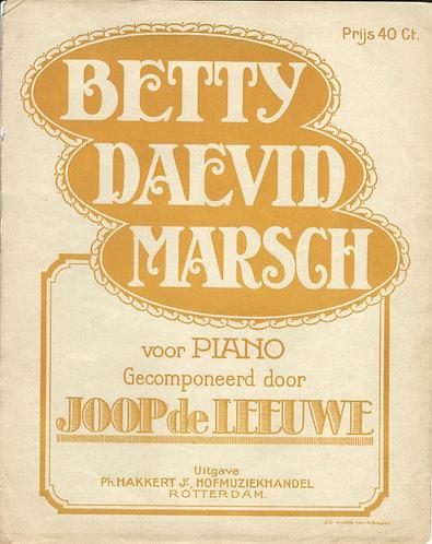 Joop de Leeuwe | Betty Daevid Marsch | Piano