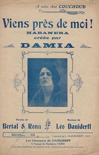 Damia | Leo Daniderff | Viens pres de moi | Vocals