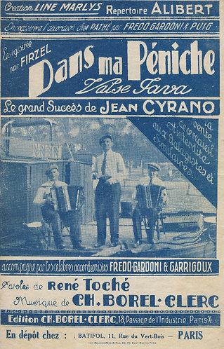 Ch. Borel-Clerc | Jean Cyrano | Dans Ma Peniche | Chanson