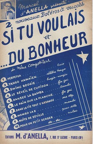 Marcel d'Anella | Du Bonheur | Small Orchestra | Combo