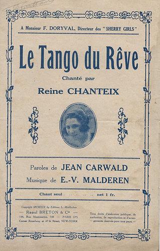 E.V. Malderen | Le Tango du Reve | Chanson