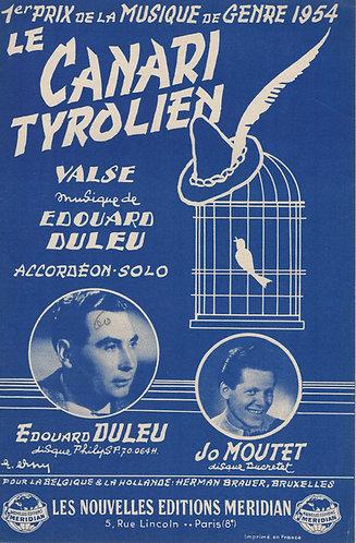 Edouard Duleu | Le Canari Tyrolien | Accordion Solo