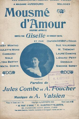 Albert Valsien | Mayol | Giselle | Mousme d'Amour | Chanson