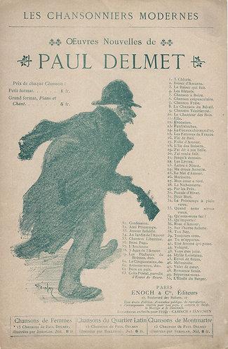 Paul Delmet   Vous etes jolie!   Chanson