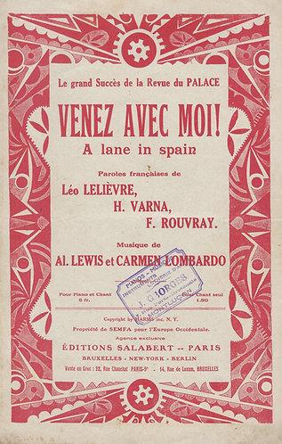 Al. Lewis | Carmen Lombardo | Venez Avec Moi! | Chanson
