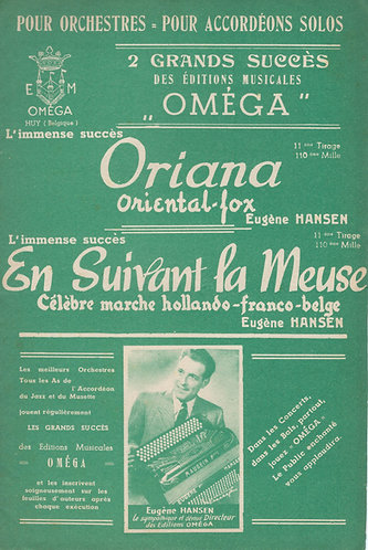 Eugene Hansen | Oriana | Orchestra