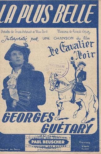 Georges Guetary | Francis Lopez | La Plus Belle | Chanson