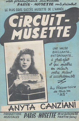 Louis Grival | Jacques de Murvil | Cirquit Musette | Combo