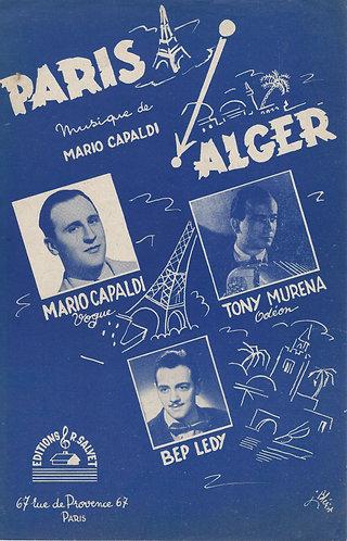 Mario Capaldi | Tony Murena | Paris Alger | Accordion