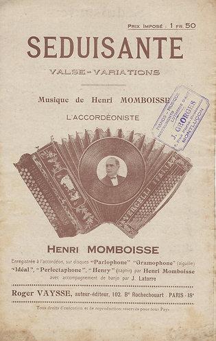 Henri Momboisse   F. Silvestri   Seduisante   Accordion