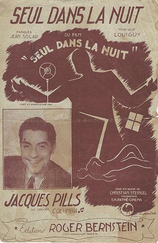 Jacques Pills | Louiguy | Seul dans la nuit | Vocals