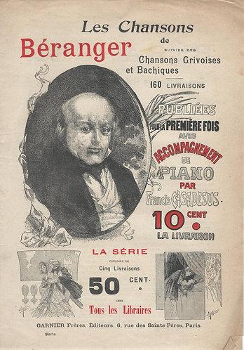 Beranger | Francis Casadesus | La Petite Ouvriere | Piano | Vocals