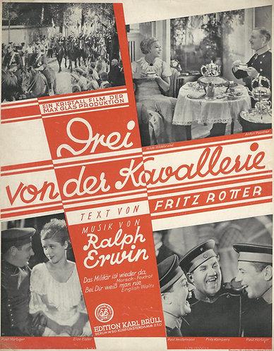 Ralph Erwin | Drei von der Kavallerie | Piano | Vocals