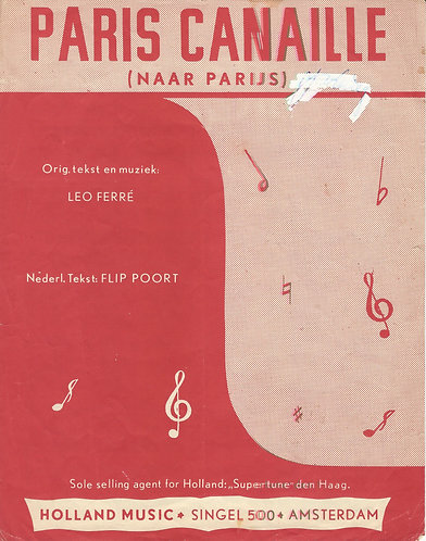 Leo Ferre | Paris Canaille | Piano | Vocals