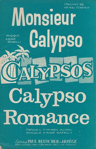 Aime Barelli | Calypso Romance | Piano