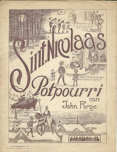 John Forge   Sint Nicolaas Potpourri   Piano   Zang