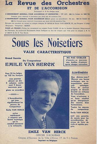 Emile van Herck | Sous les Noisetiers | Accordion | Piano