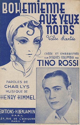 Tino Rossi | Henry Himmel | Bohemienne aux yeux noirs | Chanson