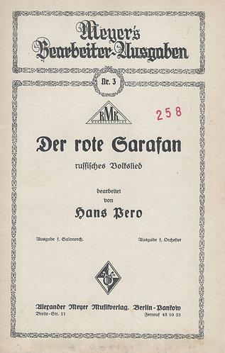 Hans Pero | Der rote Sarafan | Piano