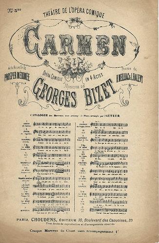 Georges Bizet | Seguedille Nr. 5 | Carmen