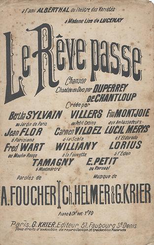 Ch. Helmer | G. Krier | La reve passe | Chanson | Vocals