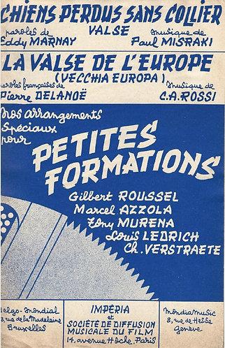 C.A. Rossi | La Valse de l'Europe | Combo