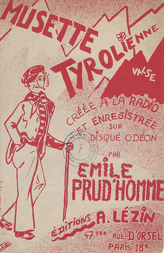 Emile Prud'homme | Musette Tyrolienne | Accordion