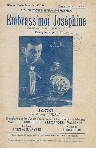 Fernand Silvestri | Jacki | Embrass'Moi Josephine | Chanson