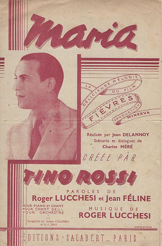 Tino Rossi | Roger Lucchesi | Maria | Chanson