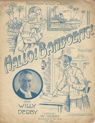 Willy Derby | Hallo Bandoeng | Piano | Vocals