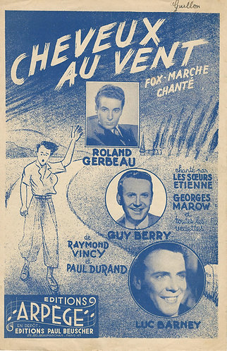 Paul Durand | Guy Berry | Cheveux au vent | Vocals