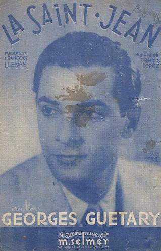 Georges Guetary   Francis Lopez   La Saint Jean   Chanson