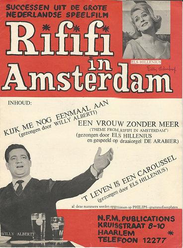 Rififi in Amsterdam | Willy Alberti | Wim Poppink | Piano | Vocals