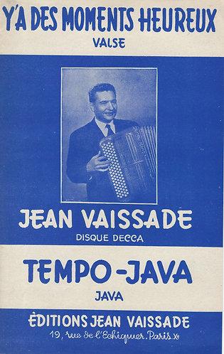 Jean Vaissade | Y'a des moments heureux | Accordion | Guitar
