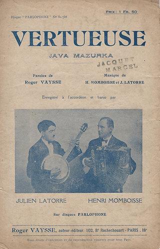 Henri Momboisse | F. Silvestri | Vertueuse | Accordion