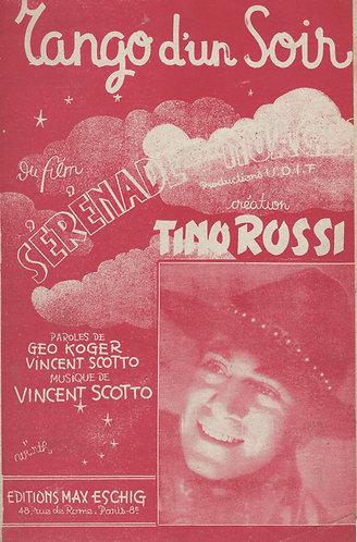 Tino Rossi | Vincent Scotto | Tango d'un Soir | Chanson