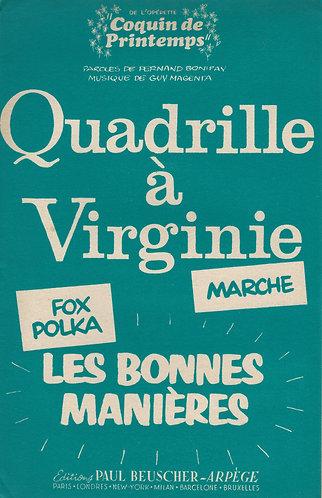 Guy Magenta | Fernand Bonifay | Les Bonnes Manieres | Accordion | Violin