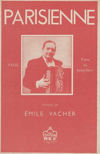 Emile Vacher | Parisienne | Piano | Accordion