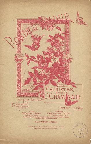 C. Chaminade | Ronde d'Amour | Vocals