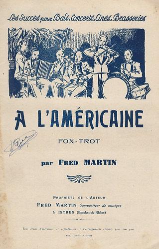 Fred Martin | A l'Americaine | Accordion | Violin