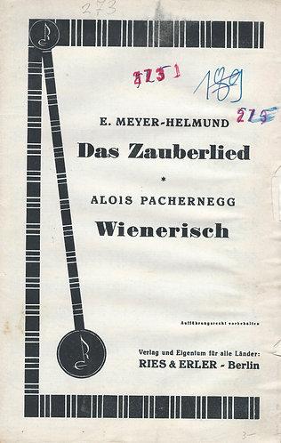 Eric Meyer-Helmund | Herm. Buchel | Das Zauberlied | Violin