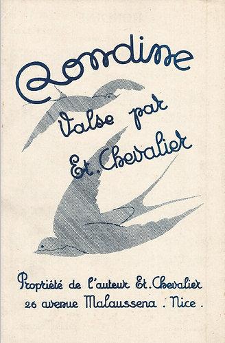 Et. Chevalier | Rondine | Piano