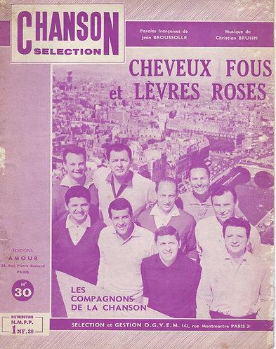 Christian Bruhn | Les Compagnons de la Chanson | Cheveux Fous et Levres Roses