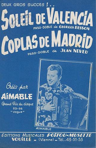 Jean Neveu | Coplas de Madrid | Accordion | Guitar